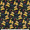 Snuggle Flannel Fabric-Fiesta Puppies