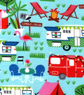 Snuggle Flannel Fabric -Camping Adventures