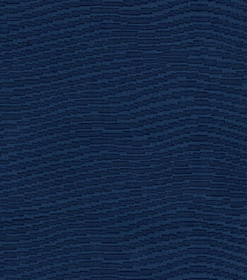 "Waverly Upholstery Fabric 59""-Waving About Navy"