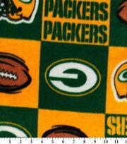 Green Bay Packers Fleece Fabric -Block, , hi-res