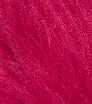 Fashion Faux Fur Fabric -Magenta