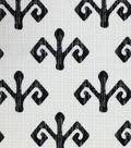 Outdoor Fabric-Jamaican Man Black & White