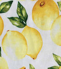 Novelty Cotton Fabric-Lemons