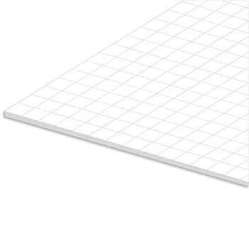 "Royal Brites White Grid Foam Board-11""X14"""
