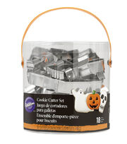 Wilton 18pc Halloween Cookie Cutter Set, , hi-res