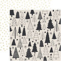 Kaisercraft First Noel 10 pk Double-sided Specialty Cardstock-Evergreen