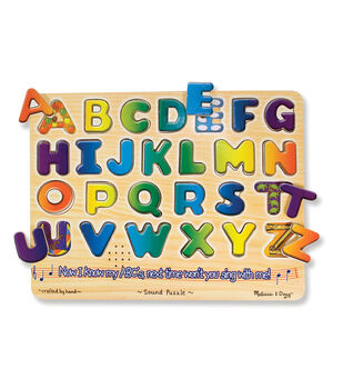 "Alphabet Sound Puzzle, 13.25"" x 10"", 26 pcs"