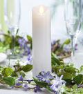 Hudson 43 2x8 Motion Flame LED Candle -White