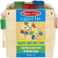 Shape Sorting Cube-