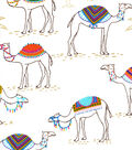 Snuggle Flannel Fabric -Trendy Camels