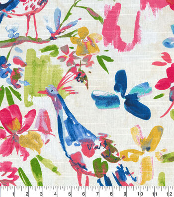 Kelly Ripa Home Upholstery Swatch 13''x13''-Confetti Flora Flaunt