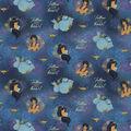 Disney\u0027s Aladdin Follow Your Heart Cotton Fabric