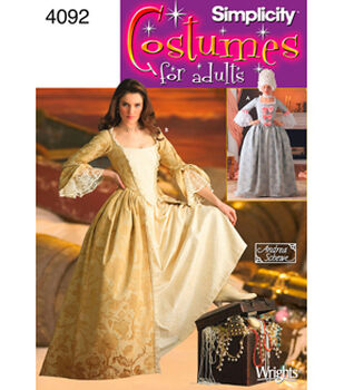 Simplicity Pattern 4092-Misses 18th Century Costumes