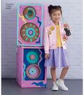 Simplicity Pattern 8429 Children\u0027s/Girls\u0027 Apparel-Size K5 (7-8-10-12-14)