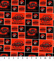 "Oklahoma State Cowboys Cotton Fabric 43""-Block, , hi-res"