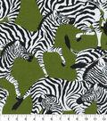 Waverly Sun N Shade Fabric 9\u0022x9\u0022 Swatch-Herd Together Leaf