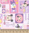 Disney Playtime Minnie Patch Print Fabric
