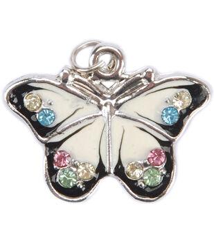 Blue Moon Beads Metal Pendant 1/Pkg-Butterfly