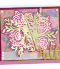 Sizzix Thinlits Dies By Katelyn Lizardi-Floral Bunch Flip & Fold
