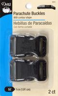Dritz Parachute Buckle 3/4\u0022 Strap Black