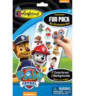 Colorforms Fun Pack Re-Stickable Sticker Set-Paw Patrol
