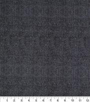 Keepsake Calico Burlap Texture Cotton Fabric -Black, , hi-res