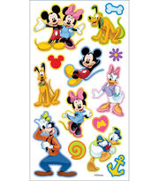 Disney Puffy Stickers-Mickey & Friends, , hi-res
