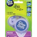 Glue Dots .375\u0022 Poster Dot Disposable Dispenser-200 Clear Dots