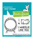 Lawn Fawn Clear Stamps 3\u0022X2\u0022-Wheelie Like You