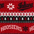 Indiana Hoosiers Fleece Fabric-Winter