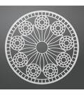 Ultimate Crafts Bohemian Bouquet 3.2\u0027\u0027x3.2\u0027\u0027 Die-Stained Glass Doily