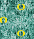 University of Oregon Ducks Cotton Fabric -Tie Dye
