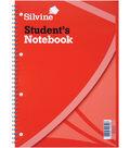 Silvine 120-sheet A4 Student\u0027s Notebook