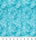 Premium Quilt Cotton Fabric 43\u0022-Dandelions Teal