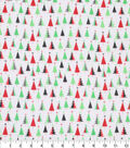 Holiday Cotton Fabric -Trees