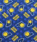 Indiana Pacers Fleece Fabric -Logo Toss