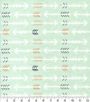 Nursery Flannel Fabric-Woodland Arrow