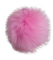 Buttercream 5'' Faux Fur Pom Pom-Pink, , hi-res
