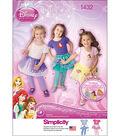 Simplicity Pattern 1432A 1/2-1-2-3--Toddlers Sportswear