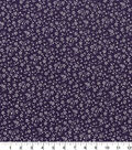 Quilter\u0027s Showcase Cotton Quilt Fabric -Floral Purple