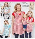 Simplicity Pattern 8038A- Misses\u0027 & Childrens\u0027 Aprons-Size S-L/S-L