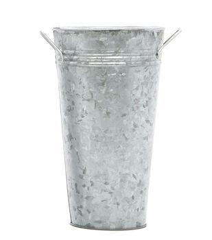 Galvanized French Bucket 9''