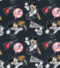 New York Yankees Cotton Fabric-Mickey
