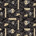Purdue University Boilermakers Fleece Fabric -Digital