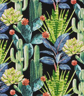 "Solarium Outdoor Fabric 54""-Hatteras Ebony"
