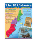 13 Colonies Learning Chart 17\u0022x22\u0022 6pk