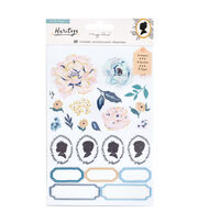 Heritage by Maggie Holmes Clear Sticker Book, , hi-res