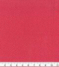 Valentine\u0027s Day Cotton Fabric 43\u0022-Tiny Hearts Red