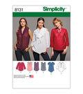 Simplicity Pattern 8131 Misses\u0027 Bow Blouses-Size R5 (14-16-18-20-22)
