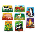 Mothers and Baby Animals Puzzle Set, Set of 8